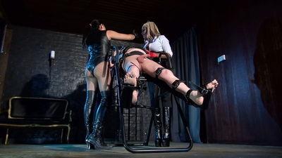 The Crying Slave Mistress Ava Black, Mistress Nina