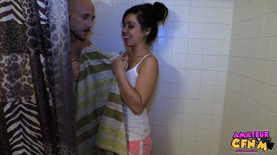 Shower Time Voyeur Jenny Laine
