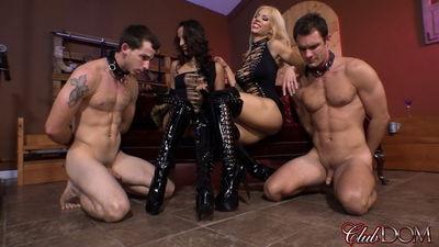 Clubdom - Kylie Rogue & Nikki Boot Worship