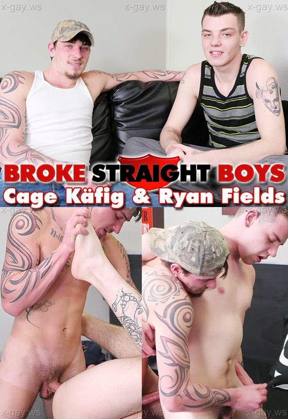 BrokeStraightBoys – Cage Kafig & Ryan Fields, Bareback