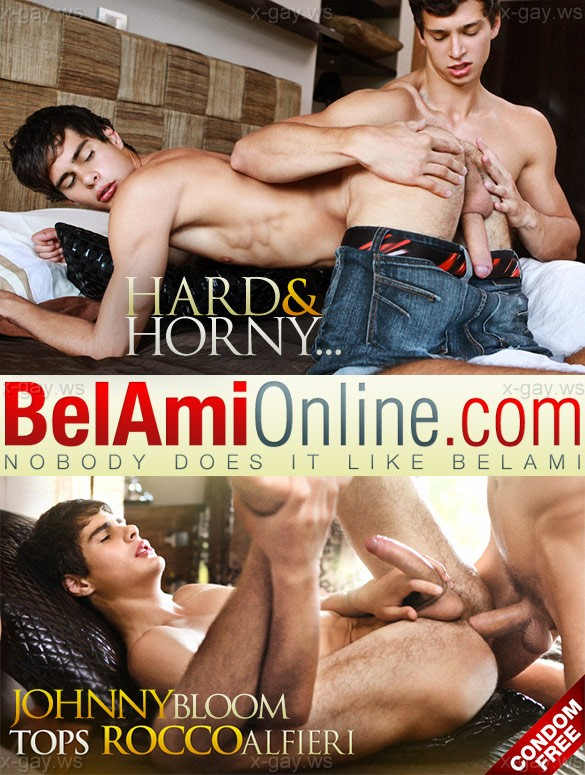 BelAmiOnline – Johnny Bloom & Rocco Alfieri, Bareback