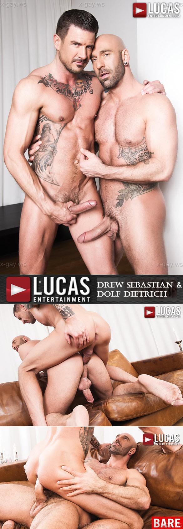 LucasEntertainment – Drew Sebastian & Dolf Dietrich, Bareback