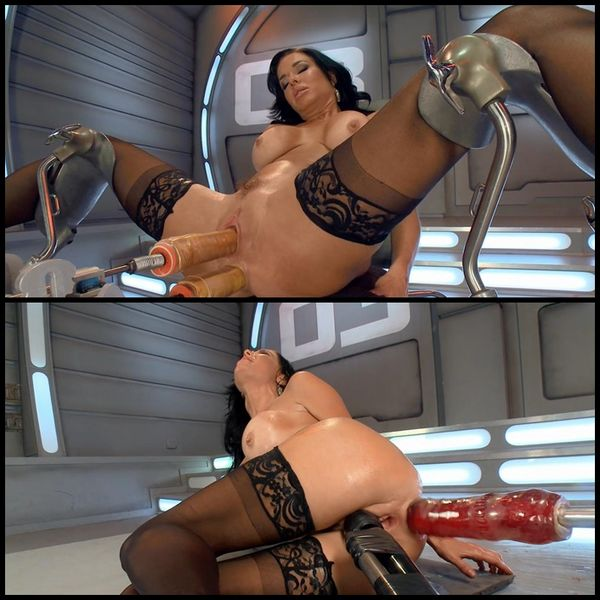 (08.04.2015) Veronica squirts non-stop on Fucking Machines – BDSM, Squirting