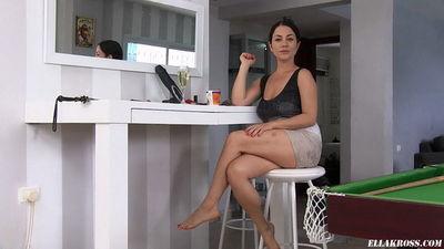 Ella Kross - BIZARRE - Making My Slave Eat Mashed Food off of the Floor!