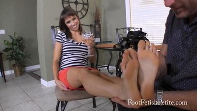 Foot Worship Appetizer Alyssa Kayson