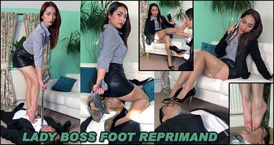 The English Mansion - Lady Boss Foot Reprimand