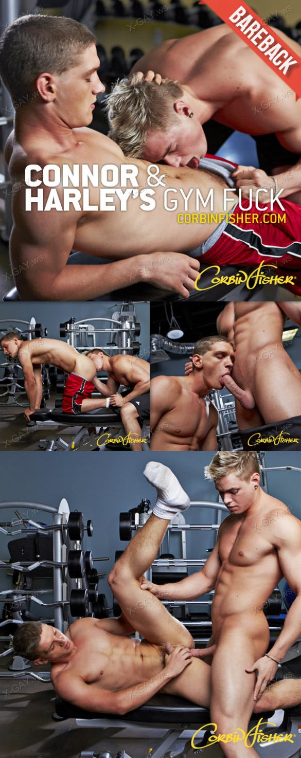 CorbinFisher – Connor & Harley's Gym Fuck, Bareback