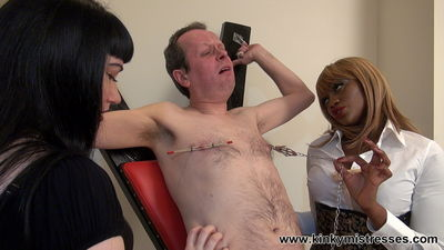 Kinky Mistresses - Nipple Punishment At The Cross Goddess Cleo, Mistress Ava Black