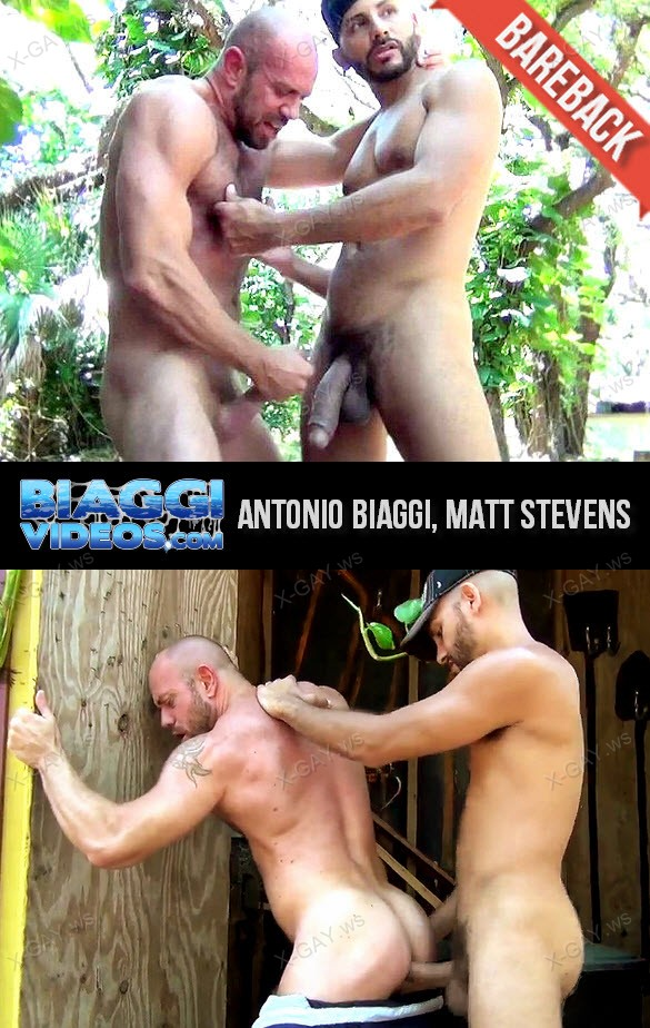 BiaggiVideos – Antonio Biaggi & Matt Stevens, Bareback