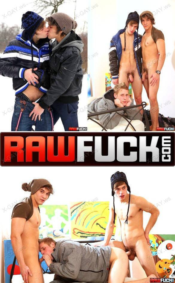 RawFuck – Skiing Studs In Surprise Threesome