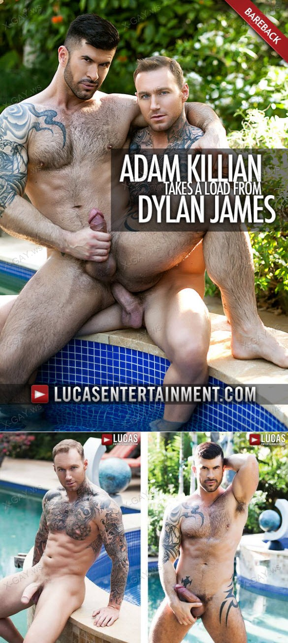 LucasEntertainment: Adam Killian Takes A Load From Dylan James (Bareback)