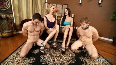 Subby Hubby - Raven & Alina Foot Licking