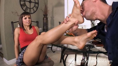Goddess Foot Domination - Dinner No Movie Goddess Alyssa
