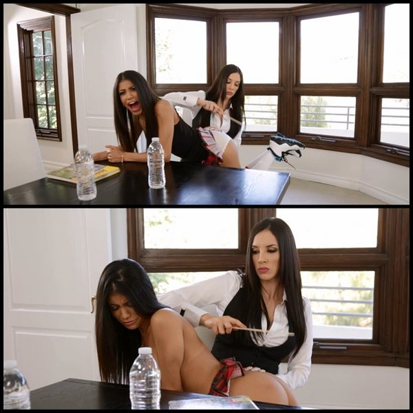 (18.06.2015) Veronica Rodriguez & Jelena Jensen – A Teacher's Discipline Part One