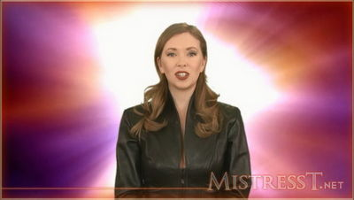 Mistress T - Entranced Stroking Slave 3
