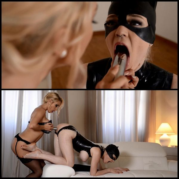 (27.06.2015) Dominatrix Gives Submissive Lots Of Spanking, Part 2