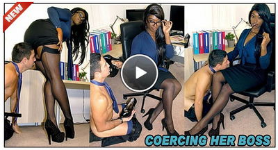 The English Mansion - Coercing Her Boss Miss Foxx