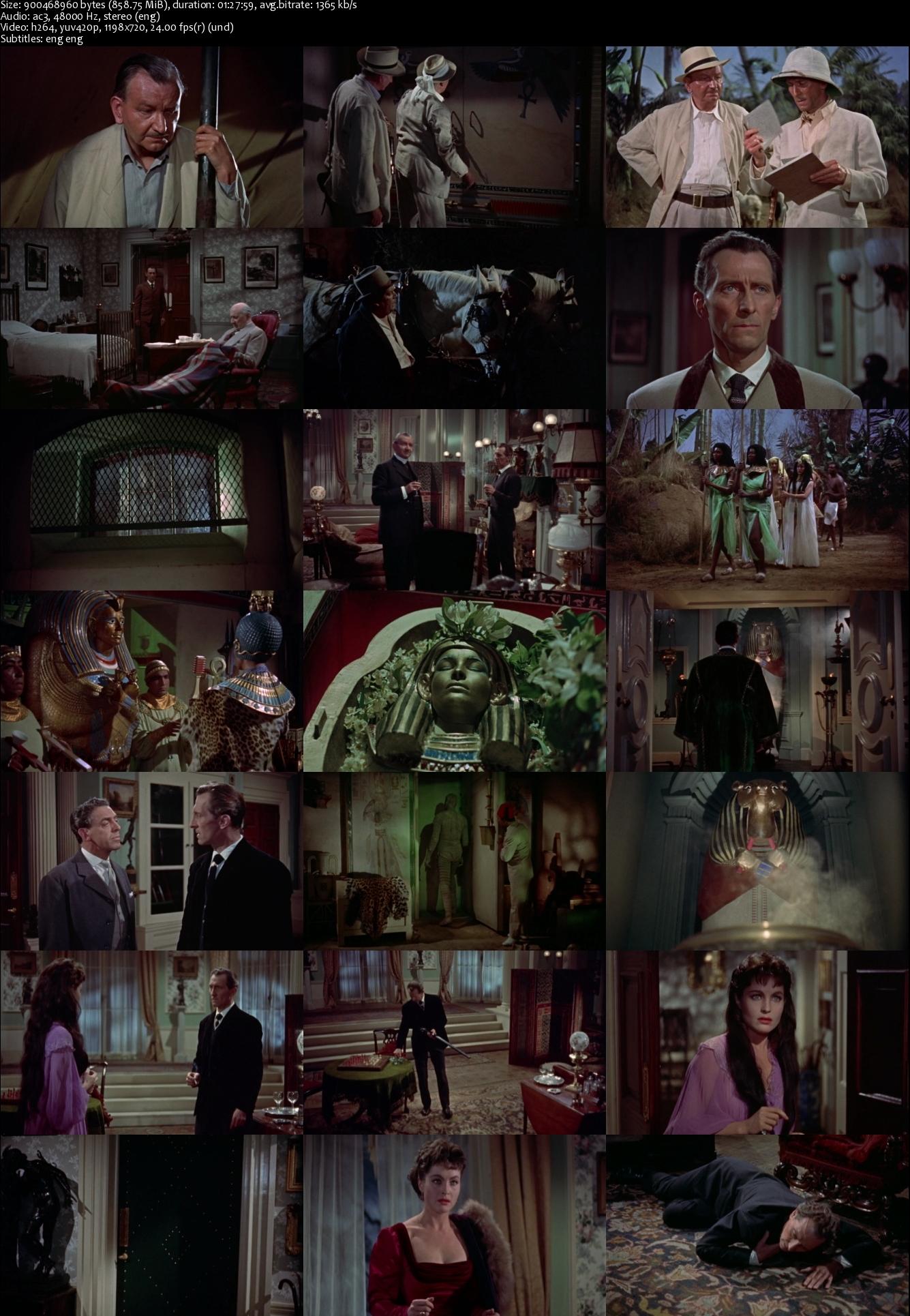 The Mummy (1959) BRRip [878MB]