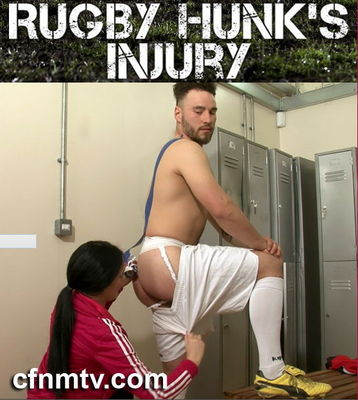 CfnmTV - Rugby Hunk`s Injury