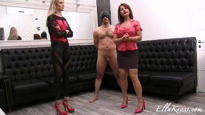 Ella Kross – Ball Kicking Game with the Gorgeous Mistress Kate!