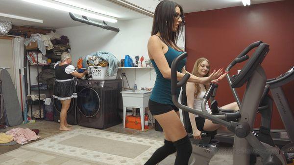 Mademoiselle's Gym Bitch, Part 1