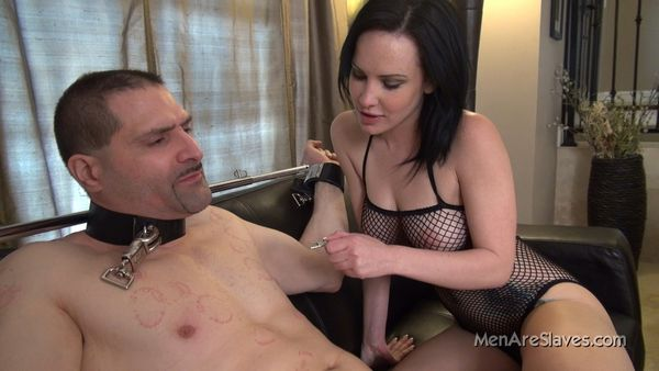 MenAreSlave - Katie - Playing With Nipples