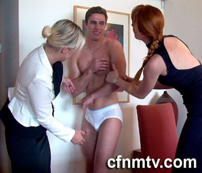 CfnmTV - Office Rival Stripped
