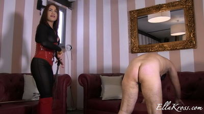 Ella Kross - Whipping Slave for Having a Small Cock!