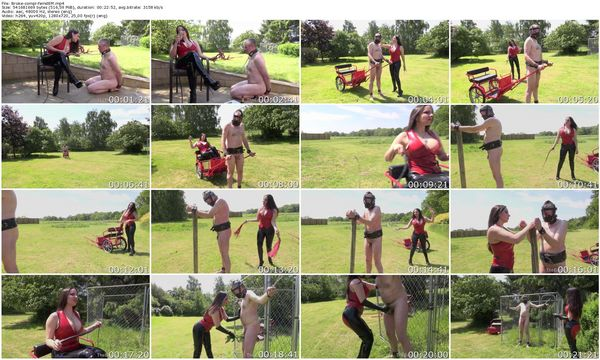 TheEnglishMansion - Domina Alexandra Snow - Broken By A Cruel Mistress complete 18.09.2015