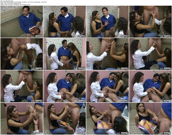 CFNMExposed - Nautica Thorn, Cameron - Guy Gets Caught Jacking Off In Public