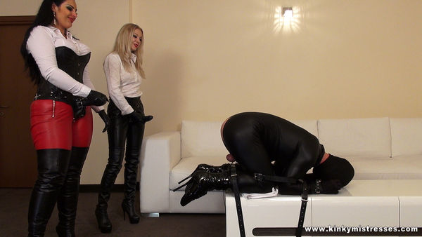 KinkyMistresses - Mistress Ezada Sinn, Mistress Lilse - Fucked In Romania