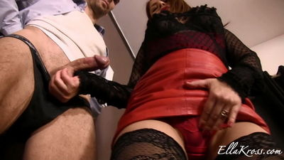 Ella Kross - Denying and Ball Torture for Being Late!