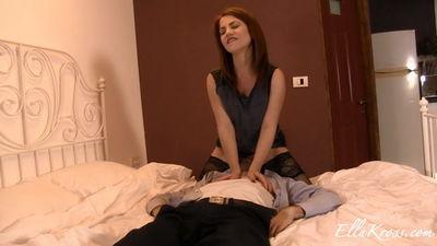 Ella Kross - Making My Slave Eat My Pussy!