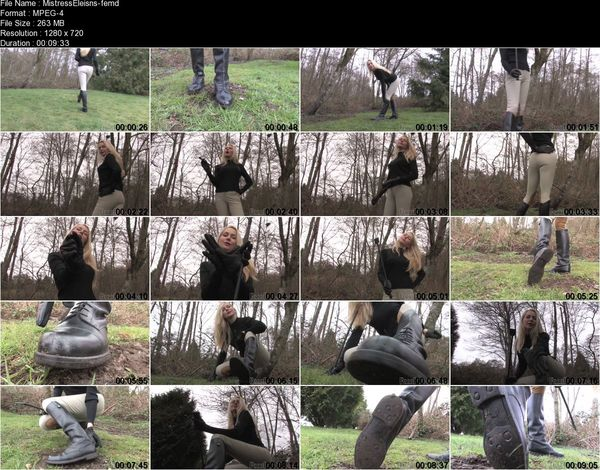 FemmeFataleFilms - Mistress Eleise de Lacey - Private Riding Lessons