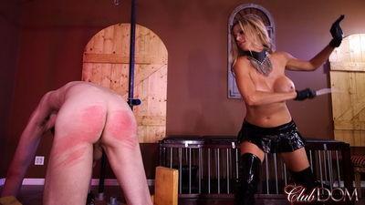 Clubdom - Alexia Fawx Pussy Tease Caning
