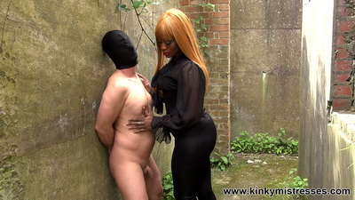Kinky Mistresses - Punishment In The Nature Mistress Ava Black