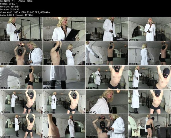 Sado Ladies - Mistress Akella - The Slave Clinic
