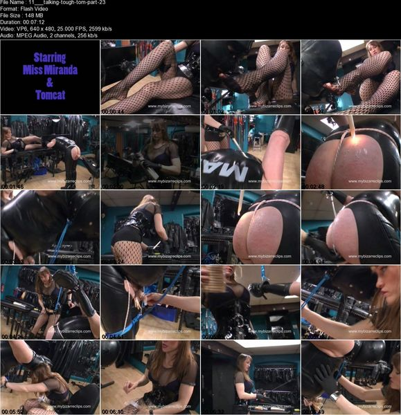 Thebondagemistressclub - Talking Tough Tomcat Part 1-2