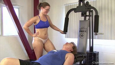 Clubstiletto - Worship Goddess Sophies Sweaty Muscles