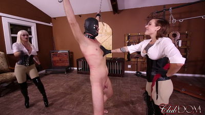 Clubdom - Whipping Day with Harlow and Dahlia