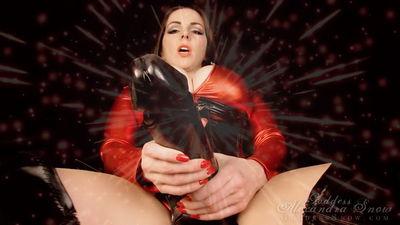 Goddess Alexandra Snow - The Super Cock is Bigger Than Ever