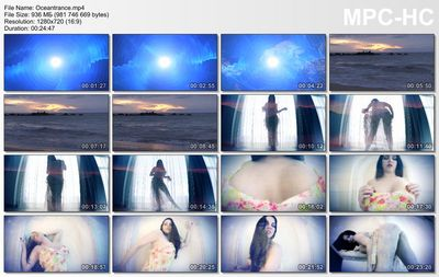 Goddess Alexandra Snow - Ocean trance
