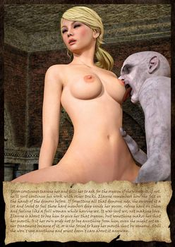 [3D Porn Comic] [Hibbli3D] Knight Elayne - Dark Eyes in the Forest
