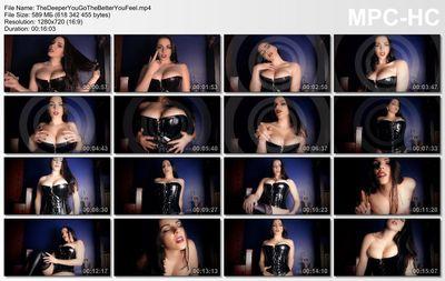 Goddess Alexandra Snow - The Deeper You Go The Better You Feel