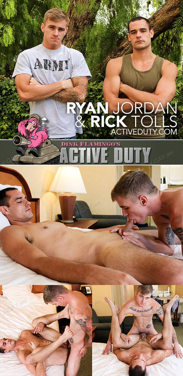 ActiveDuty: Ryan Jordan, Rick Tolls (Bareback)