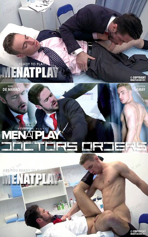 MenAtPlay: Doctor's Orders (Mike De Marco, Kayden Gray)