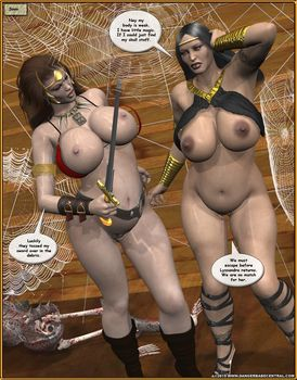 [3D Porn Comic] [DBC] Xera – Curse of the Spider Horde