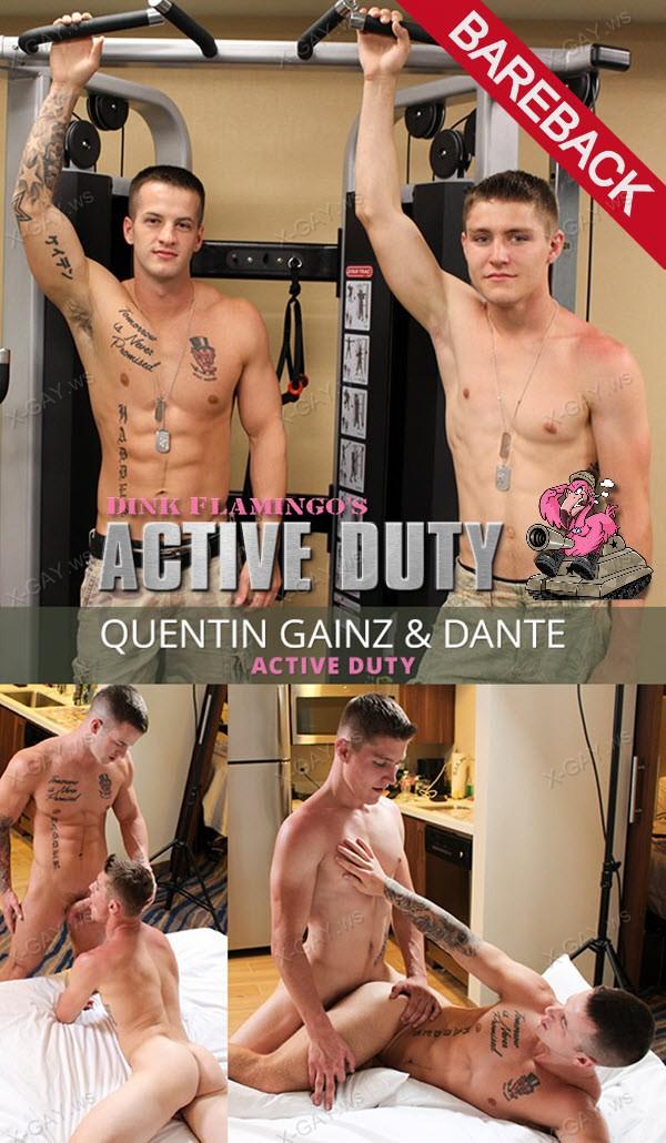 ActiveDuty: Quentin Gainz, Dante II (Bareback)