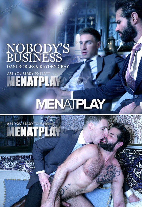 MenAtPlay: Nobody's Business (Kayden Gray, Dani Robles)