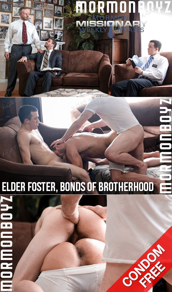 Mormonboyz: Elder Foster, Bonds Of Brotherhood (Bareback)